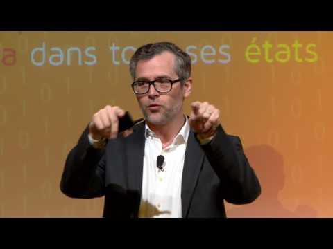 Vincent delivering keynote speech