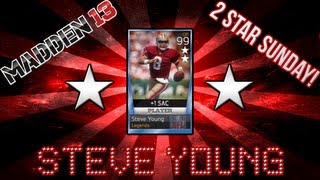 MUT 13: 2 Star Sunday - Steve Young!