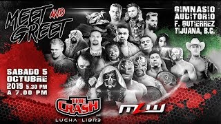 | #TheCrashLuchaLibre | Dragon Lee & Extreme Tiger vs The New Hart Foundation |