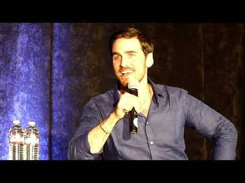 Colin O'Donoghue Afternoon Panel SF