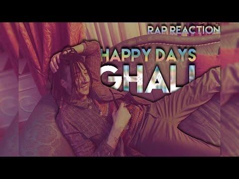 GHALI - HAPPY DAYS (Prod. Charlie Charles) Rap Reaction