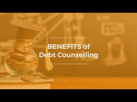 What are the benefits of debt counselling?