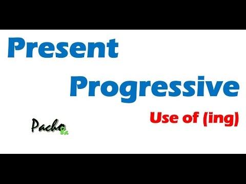 Tres Reglas Básicas Para El Presente Continuo O Progresivo