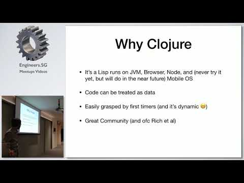 Clojure(script) Project Sharing for an Education System App - Singapore Clojure Meetup