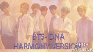 BTS- Dna Harmony Version