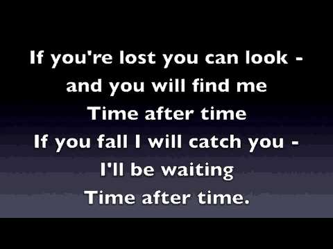 Time After Time - Eva Cassidy (Karaoke Video)