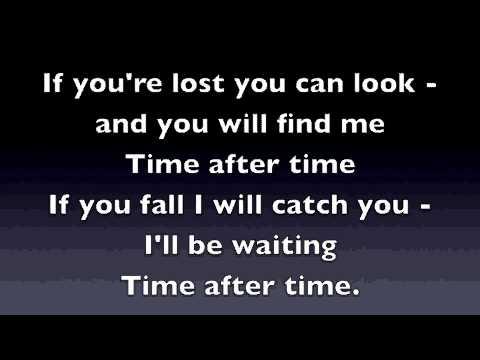 Time After Time  Eva Cassidy Karaoke