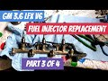 GM 3.6 LFX V6 Fuel Injector Replacement (Part 3 Of 4)