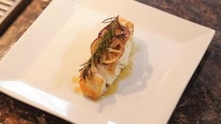 Baked Halibut Using Olive Oil, Rosemary & Garlic : Divine Dishes