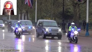 Special Escort Group: London Police Armored Land Rovers
