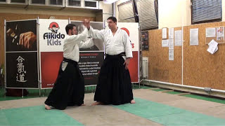katadori menuchi ikkyo [AIKIDO]  basic technique