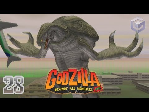 "Part 28 ""Survival: Orga"" - Godzilla: Destroy All Monsters Melee [GCN]"