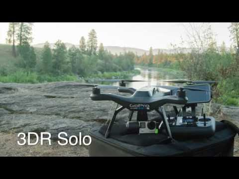 Clear Image Media new 3D Robotics 3DR Solo Drone footage