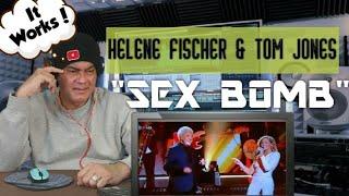 Helene Fischer & Tom Jones - Sex Bomb - REACTION!!!