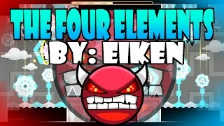 Los cuatro ILLUMINATI - The four elements by Eiken [Geometry Dash]