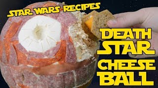 Death Star Cheese Ball | STAR WARS RECIPES | The Starving Chef