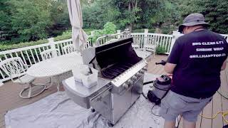 Cleaning a Weber Summit Grill