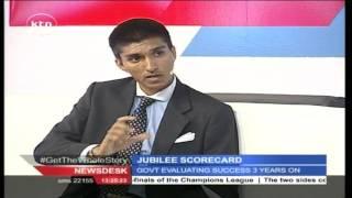 JUBILEE SCORECARD: Analysis by Strathmore University Lecturer Sahil Shah