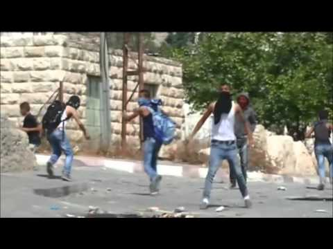 Palestinians clash with police in West Bank and Jerusalem