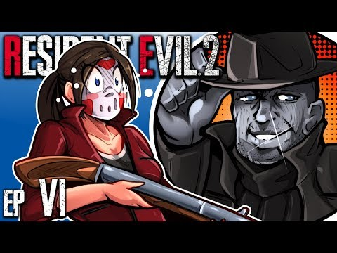 Resident Evil 2 - CHASED IN CIRCLES! (Claire's B Run) Ep. 6