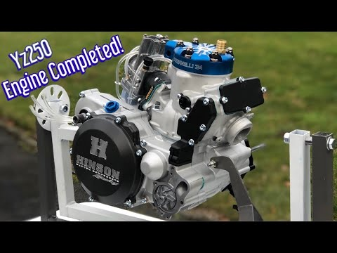Completion of my Epic YZ250 Engine Build! Part 9