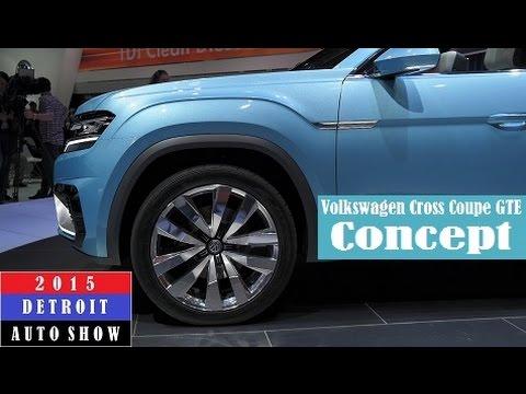 Volkswagen Cross Coupe GTE Concept - 2015 Detroit Auto Show (Live Photos)