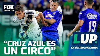 """LUP: """"Cruz Azul es un circo"""": Gustavo Mendoza"""
