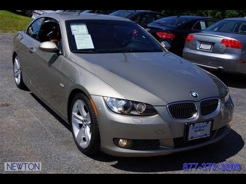 BMW Of Newton >> 2008 BMW 3-Series 335i Hardtop Convertible - YouTube