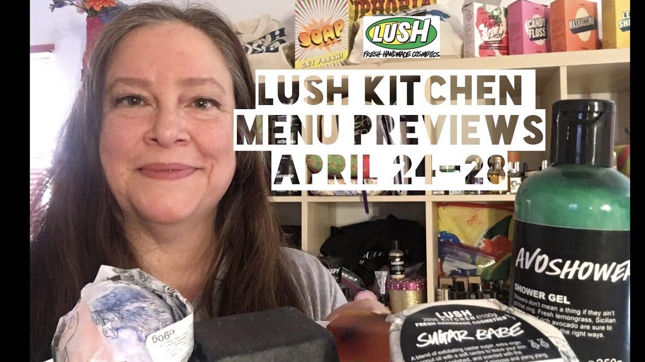 Lush Kitchen Menu Reviews April 24-28 - YouTube