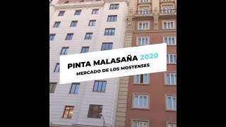 Pinta Malasaña 2020 -  Mercado de los Mostenses
