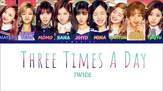 By_lemoring thank you for watching! artist: twice track: theree times a day (하루에 세번) album: signal ______________________________________