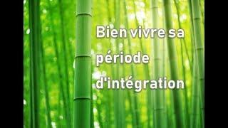Bien vivre sa période d'intégration en Kinésiologie
