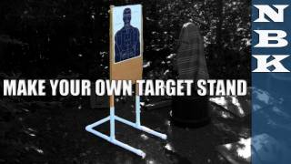 Make A Great Shooting Target Stand For About $20