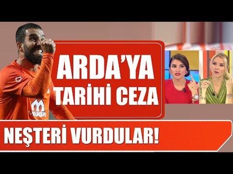 Başakşehir'den Arda Turan'a tarihi ceza! (Arda Turan ve Berkay kavgası)