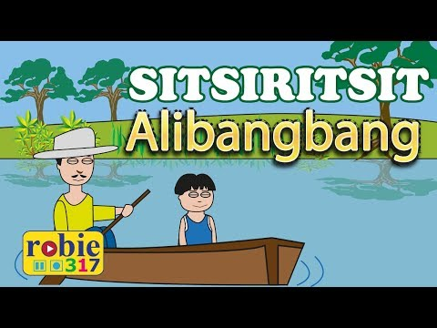 Sitsiritsit Alibangbang Animated | Filipino / Tagalog Folk Song | Awiting Pambata