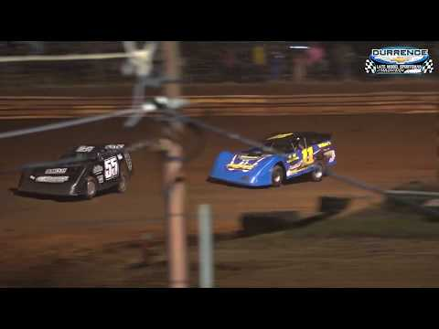 Durrence Layne Late Model Sportsman Feature at Moulton Speedway