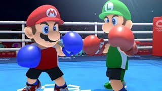 Mario and Sonic at the Olympic Games Tokyo 2020 - Boxing (All Characters)