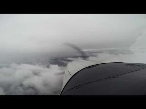 KPSM to KISP in Hard IFR with Live ATC