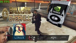Ballistic Overkill #3 com Nvidia em Linux - 100+fps - Cuidado com o volume