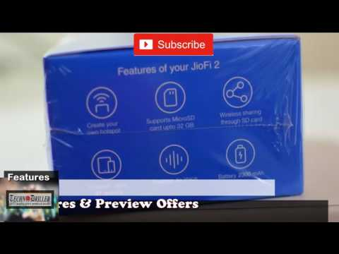 Rel JiFi 4G MiFi portable hotspot review with preview offer