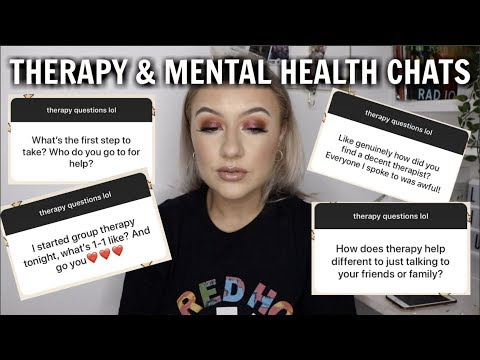 i went back to therapy - answering your mental health questions | Josie Peaches thumbnail