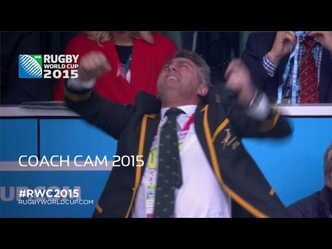 COACH CAM: High Emotions at RWC2015!