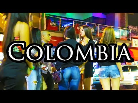 Medellin Parque Lleras Nightlife Party - Colombia