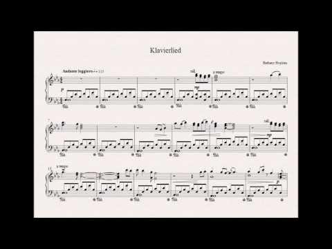 A* GCSE Music Composition  Klavierlied