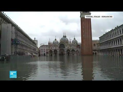 عمدة البندقية لفرانس 24: -الأسوأ قد مر والأولوية إيواء المنكوبين جراء الفيضانات-  - نشر قبل 39 دقيقة