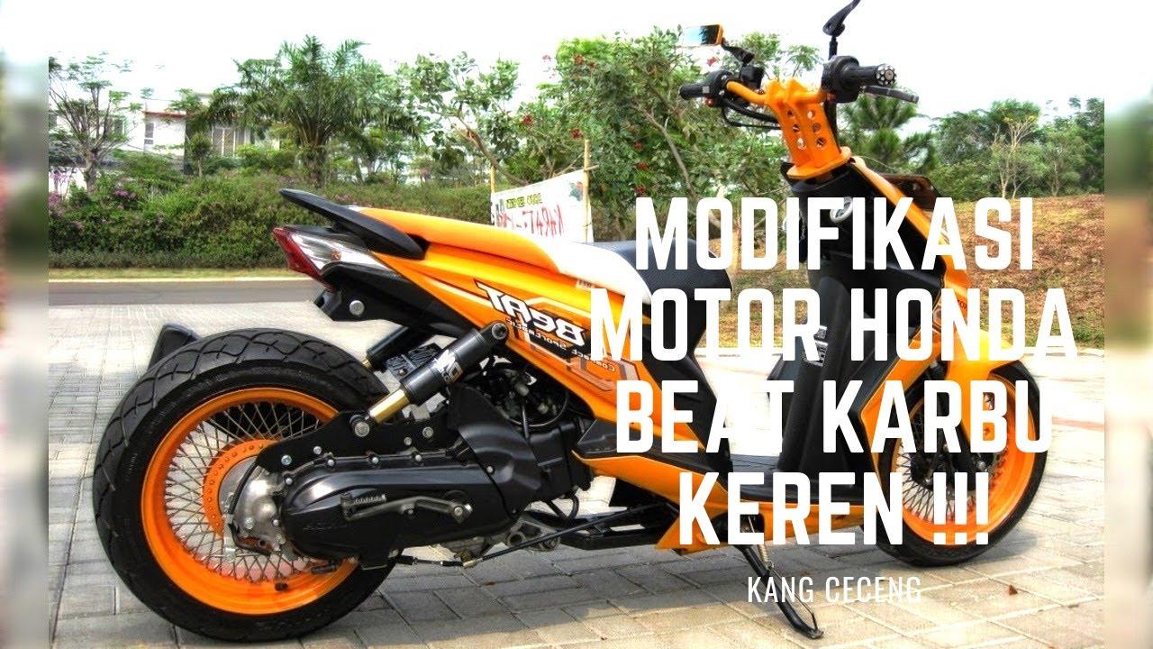 10 Modifikasi Motor Honda Beat Karbu Keren