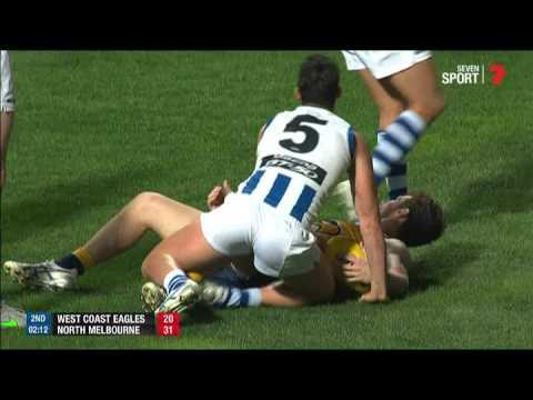 AFL Preliminary Final Highlights - West Coast Eagles v North Melbourne