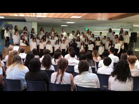AMS Choir Gold - Music In The Park 2017 - I Am The River