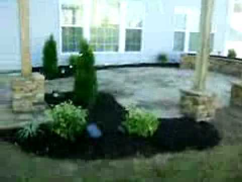 backyard makeover by distinct home hardscapes inc charlotte nc