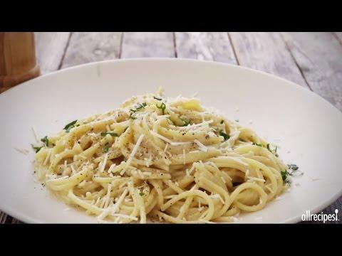 How To Make Spaghetti Cacio E Pepe   Pasta Recipes   Allrecipes.com